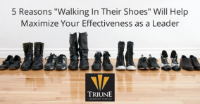 5 Reasons -Walking in their Shoes- Will