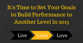 It's Time to Set Your Goals to Build