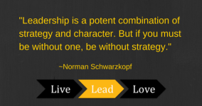 -Leadership is a potent combination of
