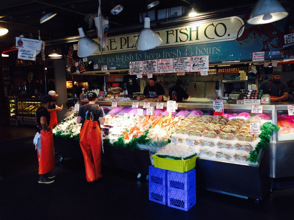 Insights on becoming world famous from pike place fish for Famous fish market in seattle