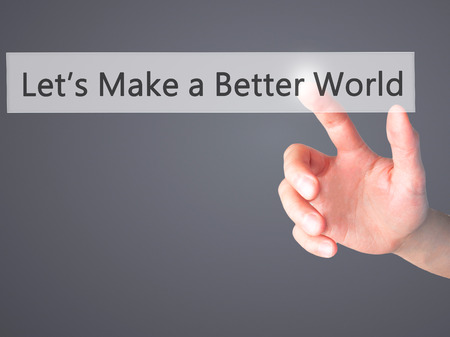 Serving and Encouragement Lead to a Better World